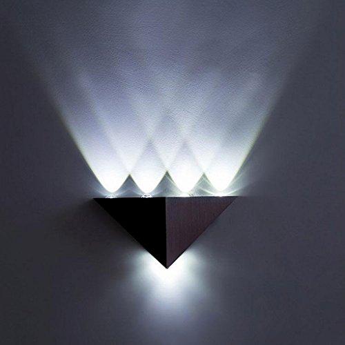 Aplique pared lampara Lámpara Pared Triangular Lámpara