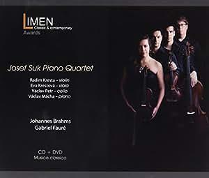 J. Brahms, G. Faurè - Josef Suk Piano Quartet (CD+DVD)