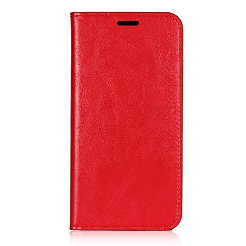 Wendapai Vivo X21 Brieftasche Multi Karte Holder Gemütlich Cellphone Case Folio PU Leder Hülle mit Cellphone Case Hülle zum Vivo X21-Red