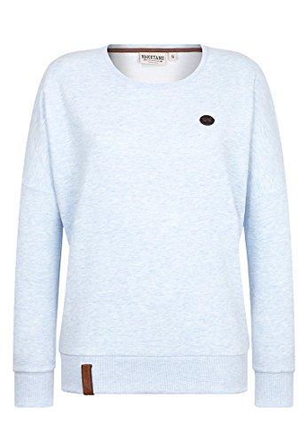 naketano femelle Sweat-shirt 2heures sikis Sport III Cloudy Melange