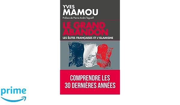 Résultats de recherche d'images pour «Le Grand abandon, les élites françaises et l'islamisme»