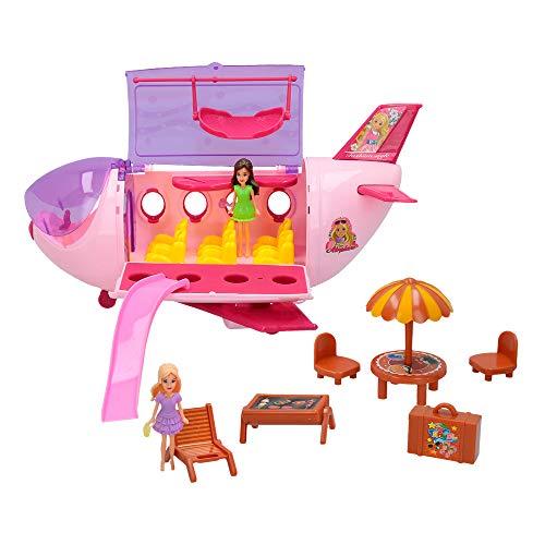 ColorBaby -  Avión con muñecas y accesorios CBtoys (44664)