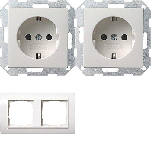 set-completo-gira-system-55mascherina-di-copertura-2vie-puro-bianco-lucido-interno-bianco-puro-con-2