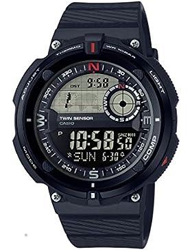 Casio Collection – Herren-Armbanduhr mit Digital-Display und Resin-Armband – SGW-600H-1BER