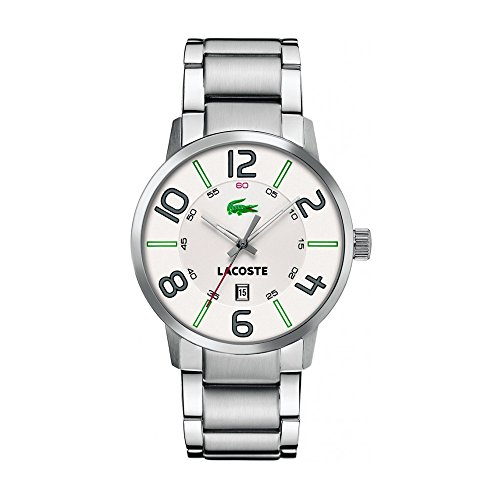 Lacoste - 2010494 - Gents Watch - Analogue Quartz - Silver Golden Stainless Steel Strap