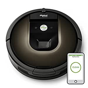 Roomba - Robot Aspirateur avec Vidéosurveillance Roomba iRobot 980 AeroForce Generation 3 Motor Virtual Wall® Dual iAdapt 2.0 0,6 L 33W
