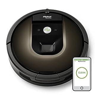 iRobot Roomba 980 Sin bolsa Negro aspiradora robotizada - aspiradoras robotizadas (Sin bolsa, Negro, Chocolate, Alfombra, Cámara, 120 min, 2 h) (B017WD5KZM) | Amazon Products