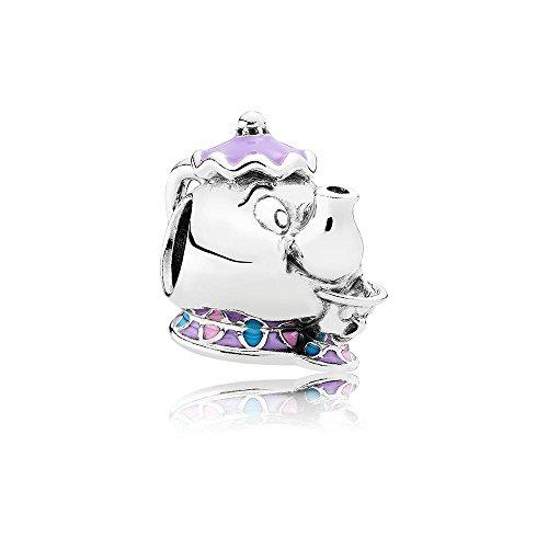 Pandora Charm 925/Silber Disney, Madame Pottine und Tassilo 792141ENMX