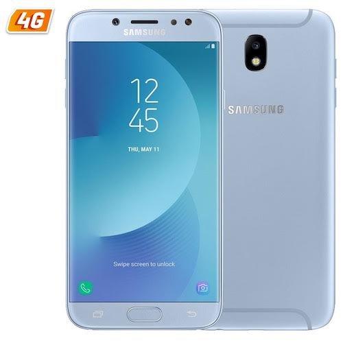 Preisvergleich Produktbild Samsung Galaxy J7 Duos (2017) Blue ohne Simlock,  ohne Branding,  ohne Vertrag