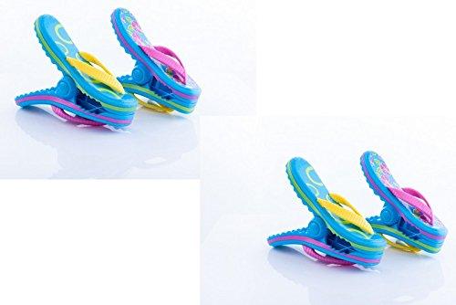 Boca Clips – 2 paires de tongs.