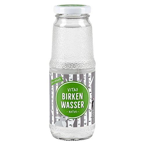 Bio Birkenwasser Natur - 100% natürlich - nur Birkensaft, sonst nichts