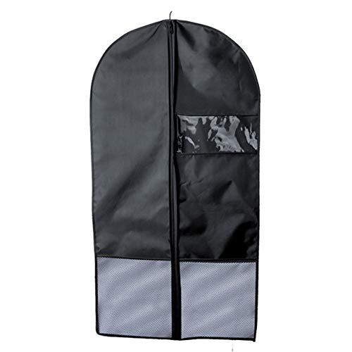 3 Stück Petite Anzug (Niocase 3 Stück Anzug Abdeckung Staubdicht Feuchtigkeitsfest Bekleidungsabdeckungen Wasserdicht Atmungsaktiv Kleidung Abdeckungen mit Transparentem Fenster)