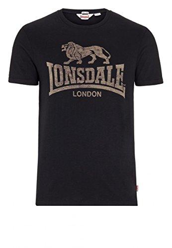 Lonsdale T-Shirt Slim Fit Newhaven Black