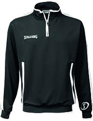 Spalding 300301201 - Camiseta de baloncesto para hombre, color negro, talla L