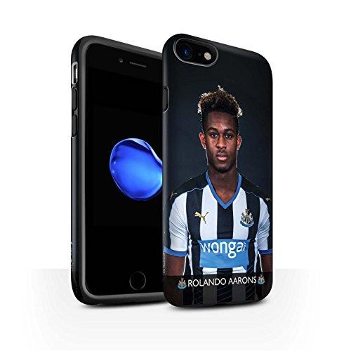 Offiziell Newcastle United FC Hülle / Matte Harten Stoßfest Case für Apple iPhone 7 / De Jong Muster / NUFC Fussballspieler 15/16 Kollektion Aarons