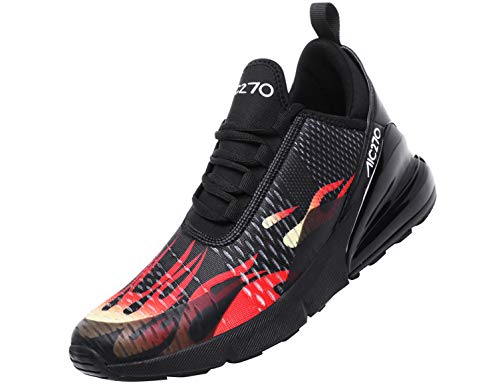 SINOES Herren Sportschuhe Atmungsaktiv Gym Turnschuhe Leichtgewicht Laufschuhe Lace Up Freizeitschuhe Trainer Outdoor Sneaker Shoes - Herren-freizeit-walker