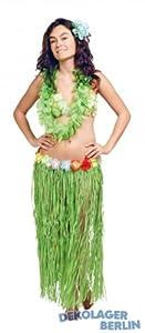 Falda hula hawaii 80 cm con correa de la flor