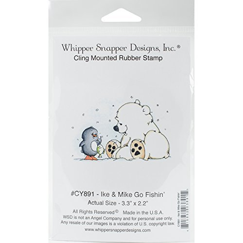 whipper-snapper-designs-cy891-ike-mike-go-fishin-cling-stamp-4-by-6-red-by-whipper-snapper-designs