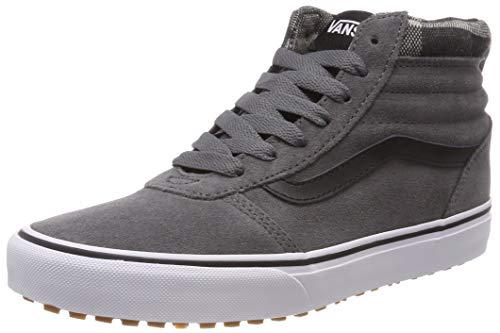 Vans Herren Ward HI MTE Hohe Sneaker,Grau ((MTE) Pewter/Black U2y), 42 EU