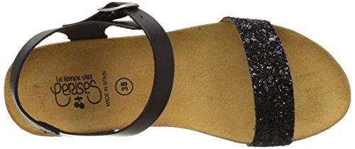 Le Temps des Cerises - Astrid/E17, Laccetto alla caviglia Donna Noir (GLITTER BLACK)