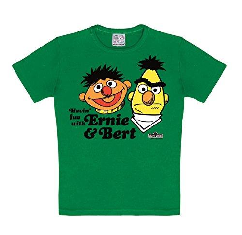 Logoshirt Jungen Hemd Gr. 2-3 Jahre , Grün
