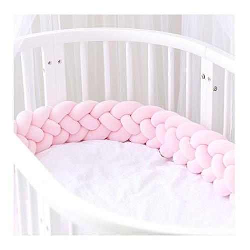 BINGMAX Baby Weben Bettumrandung Nestchen Stoßstang Kantenschutz Kopfschutz für Babybett Bettausstattung Set