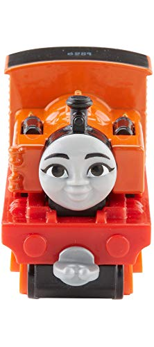 Thomas & Friends FJP41 Nia, Thomas the Tank Engine Big World Big Adventure Movie Diecast Metal Toy Engine, girl Engine, Toy Train, 3 Year Old