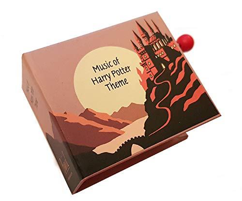 Caja música / caja musical manivela cartón forma