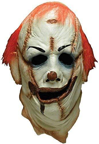 Profi Kostüm Qualität - Fancy Me Erwachsene Luxus Halloween Clown Dünner Cosplay Horror Konvention Profi-Qualität Theater Kostüm Kleid Outfit Maske