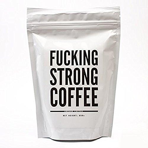 Monsterzeug Richtig starker Kaffee, Fucking Strong Coffee, 250 Gramm krassstark Kaffeepulver,...