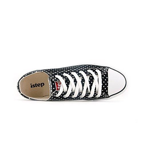 Chaussures de toile plat d'automne/Chaussure respirante/Sneakers haut bas B