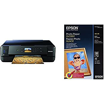 Epson Expression Premium XP-900, C11CF54402 + Papel fotográfico Photo Paper Glossy A3, 20 hojas