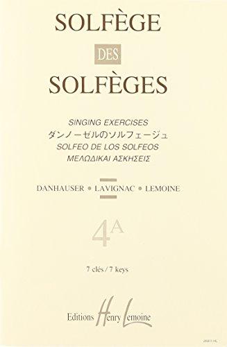 Solfège des Solfèges Volume 4A sans accompagnement