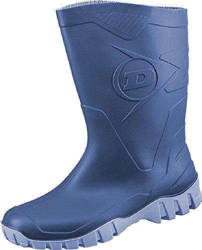Dunlop Dee Kurzstiefel -Gummistiefel,Regenstiefel, Arbeitsstiefel Blau
