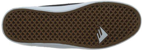 Emerica - TROUBADOUR, Sneakers da Uomo Noir (Black Grey)
