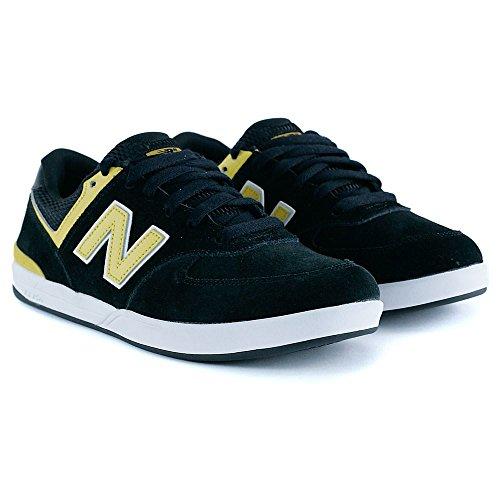 NEW BALANCE NUMERIC Skateboard Shoes LOGAN-S 636 BLACK/YELLOW Nero giallo