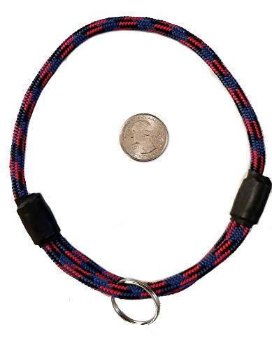 National Leash Hundehalsband, dünn, Bergseil, Größe M, Racer Red