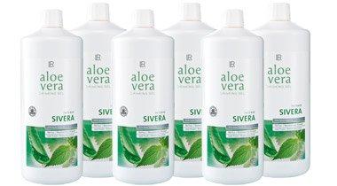 LR Sixpack Aloe Vera Trinkgel Sivera Nahrungsergänzung / Drinking Gel Sivera 6 x 1000 ml