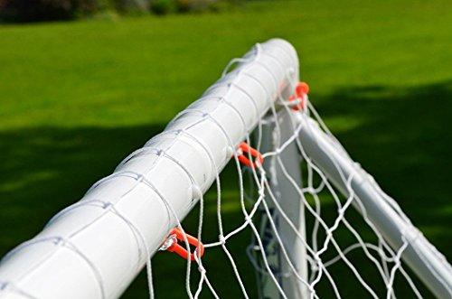 Erstklassiges FORZA Fußball Tornetze, 0.9 x 0.75m - 3.7 x 1.8m (ohne obere Tiefe) [Net World Sports] (Forza Tornetz 2.4 x 1.8m)