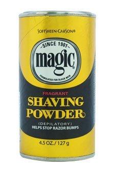 Magic Gold Shaving Powder 5oz. Fragrant (2 Pack) by Magic