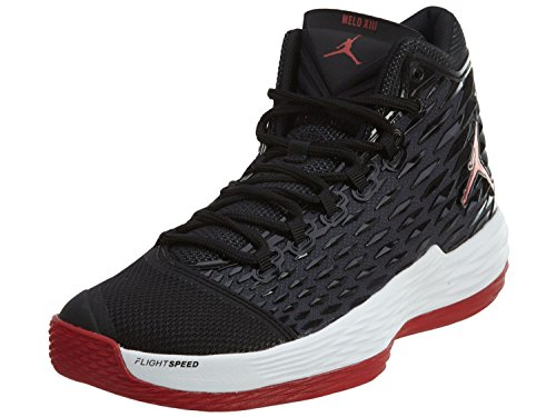 Jordan Melo M13 Mens Basketball-Shoes 881562-002_11.5 - Black/Gym Red-White-Anthracite