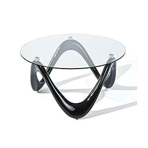Sinus - Table basse noire