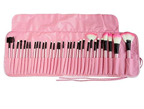 IU Desert Rose Hausbedarf 32 Mini Make-up Pinsel Set Makeup Tools Schönheit (Farbe : Pink) Desert Rose Set