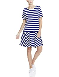 Bench Jersey Tee Dress Stripes, Robe Femme