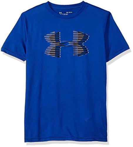 Solid Tech T-shirt (Under Armour Jungen Tech Big Logo Solid Tee Kurzarmshirt, Royal, YXL)