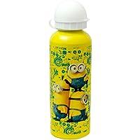 Preisvergleich für Minions Aluminium Trinkflasche - groß für Schule, Partys oder Picknicks! 6 cm Durchmesser x 21 cm