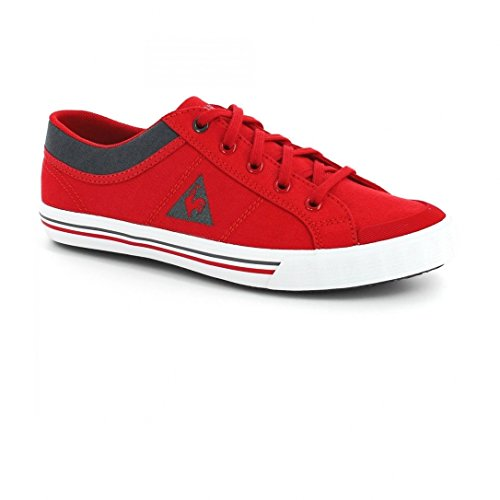 Chaussures Saint Gaetan Gs Canvas Vintage Red Jr - Le Coq Sportif Rouge