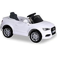 Niños infantil niño elektroauto Niño Vehículo Eléctrico Coche elektroauto 12V Original Luxus Audi A3a 3Blanco R/C