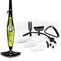 Thane H2O HD High Definition 5 in 1 Steam Mop Cleaner Multi Purpose Portable Upright & Handheld Hard Floor Window Carpet Steamer Upholstery Oven Hob Upright Washer Steam Jet