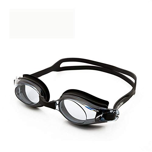 FDOU Adult Men and Women Silicone high-Definition Swimming Glasses,Large Frame Waterproof Anti-Fog and Anti-UV Goggles 3 Pieces,H